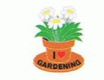 I Love Gardening - Enamel Charm